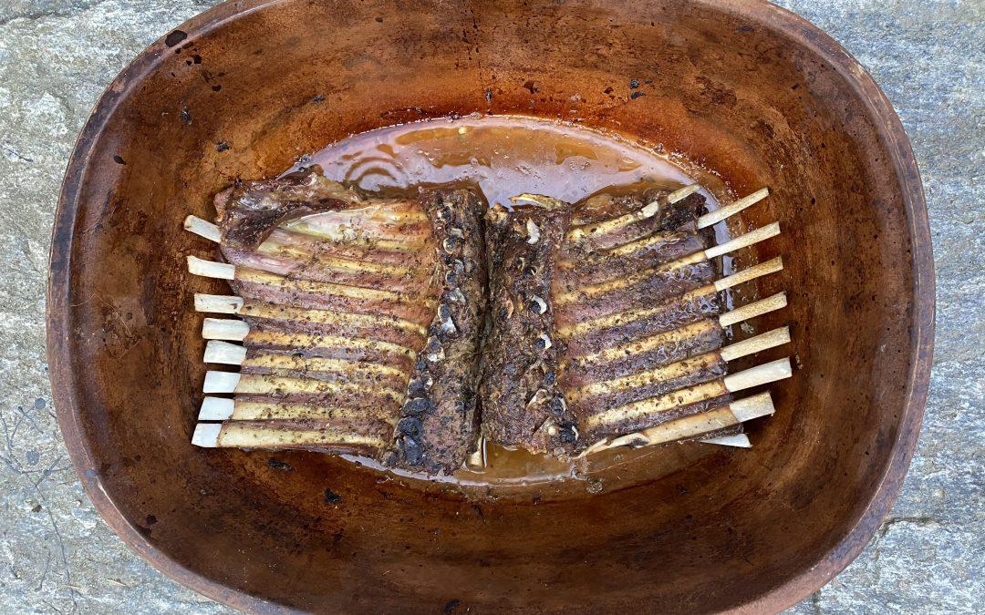 Recipe: Slow-Roasted Rack of Lamb